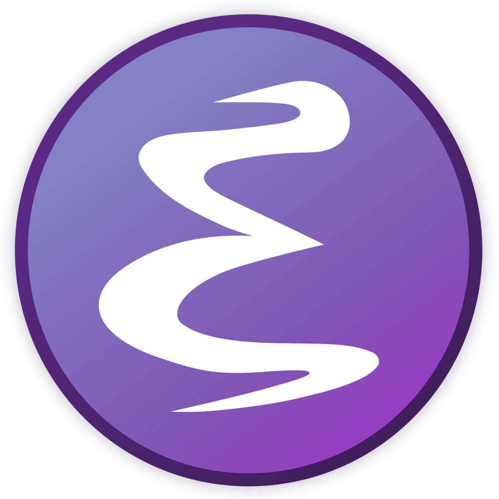 Logotype for Emacs - A text editor